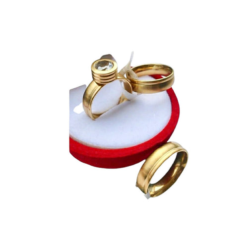 WR662 Couples Wedding Ring - Bejewel