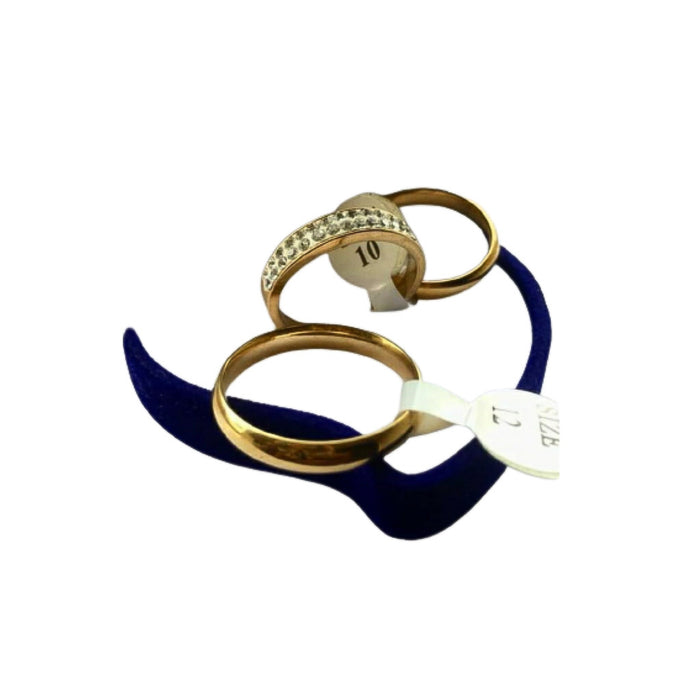 WR630 Couples Wedding Ring - Bejewel