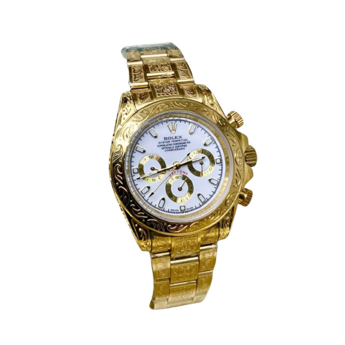 RO820 Automatic Chronograph - Unisex Chain Watch - Bejewel