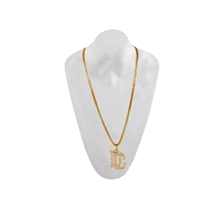 UN347 DC pendant unisex fashion necklace - Bejewel