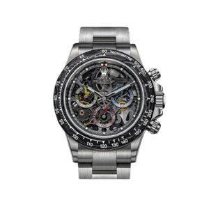 Rolex RL401 Automatic Chronograph - Men's Chain Watch - Bejewel