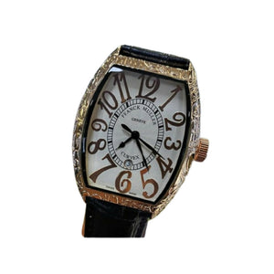 Franck Muller FM429 men's leather watch - Bejewel