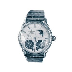 Patek Philippe PP766 Tourbillon Chronograph - Men's Chain Watch - Bejewel