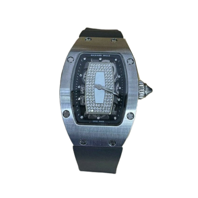 Richard Mille RM430 Chronograph - Men's Rubber Watch - Bejewel