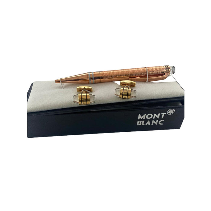 CB624 Cufflink And Biro Set - Bejewel