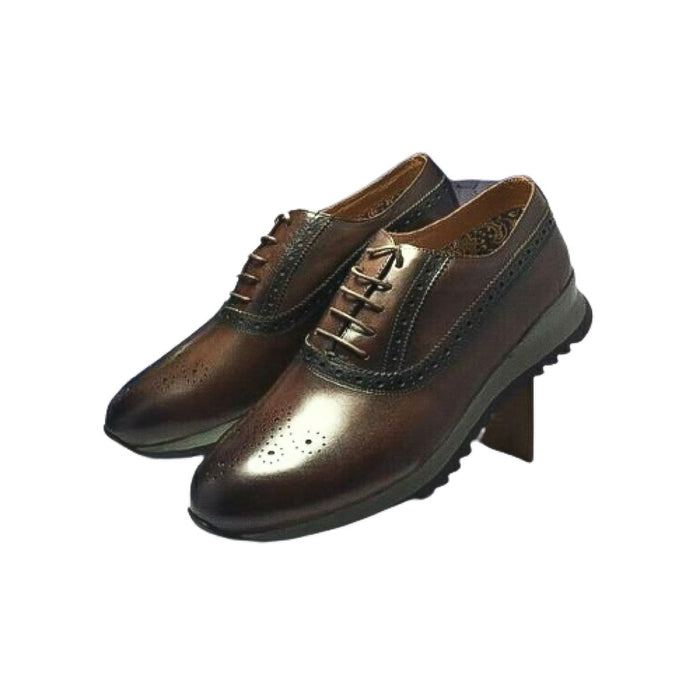 Paris MS789 Men's Leather Oxford Shoe - Bejewel
