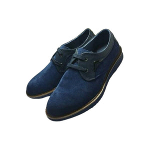 Paris MS157 Men's Suede Loafer Shoe - Bejewel