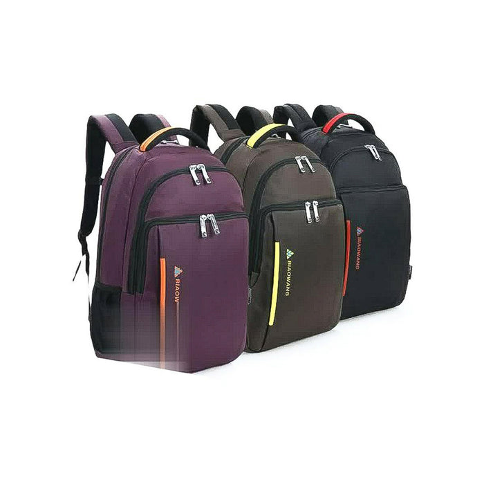 Biowang BP971 Unisex Leather Backpack - Bejewel
