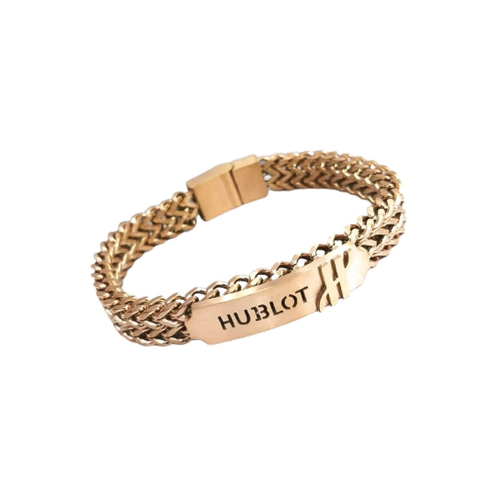 HL511 Unisex Chain Bangle - Bejewel