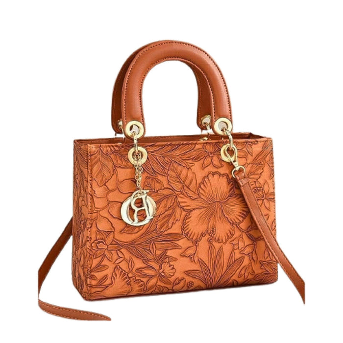 WH692 Women's Fashion Handbag - Bejewel
