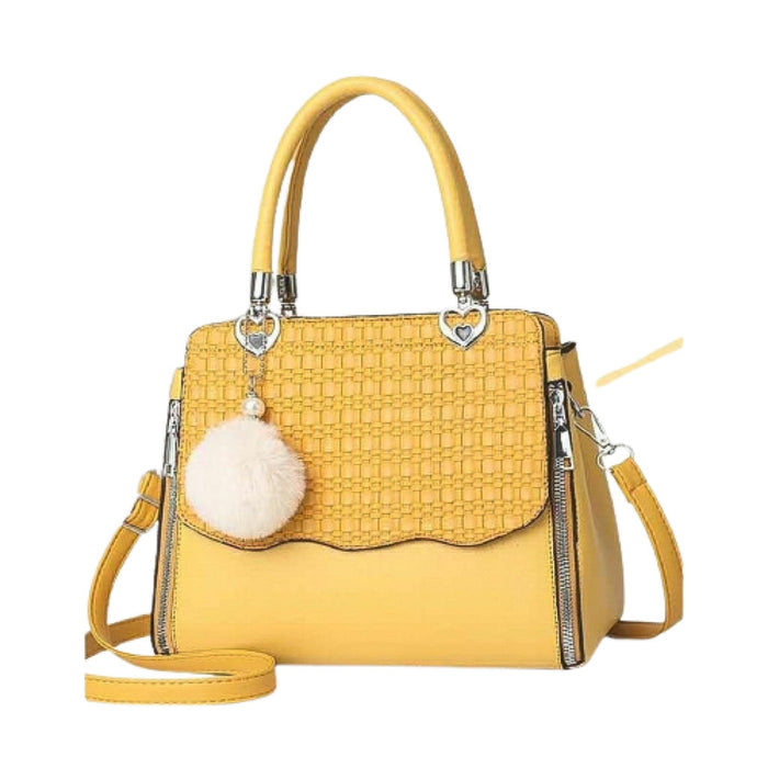 WH537 Women's Fashion Handbag - Bejewel