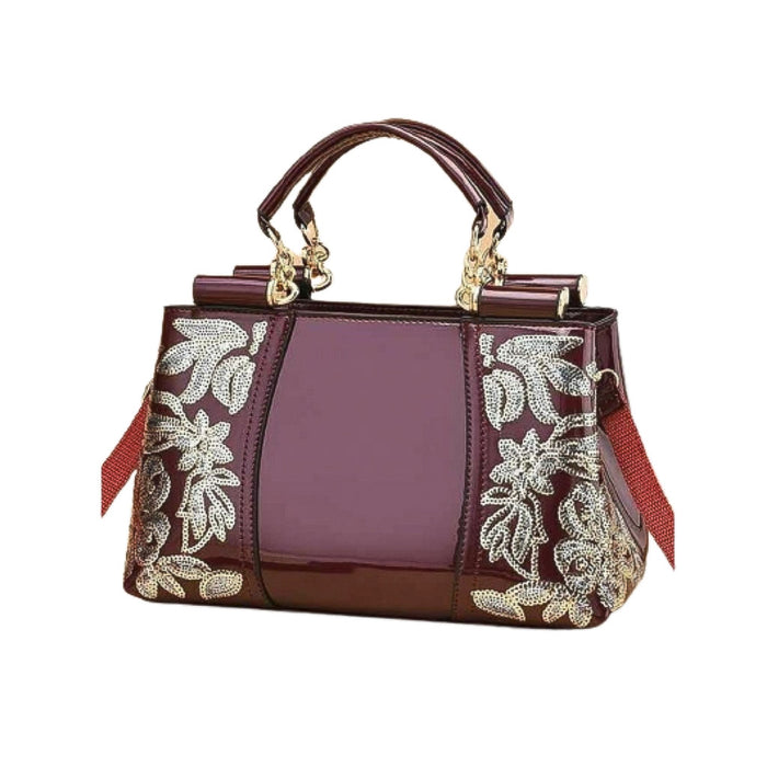 WH158 Women's Fashion Handbag - Bejewel