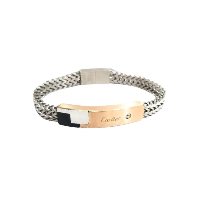 CT862 Men's Chain Bangle - Bejewel