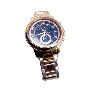 Tommy Hilfiger TH407 Automatic Chronograph - Unisex Chain Watch - Bejewel