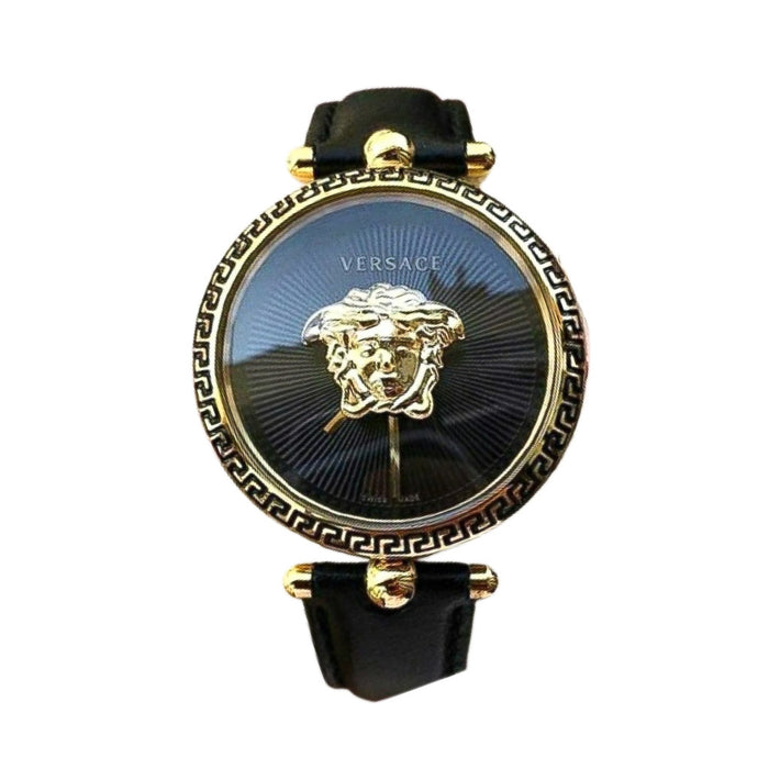 Versace VS626 women's leather strap watch - Bejewel