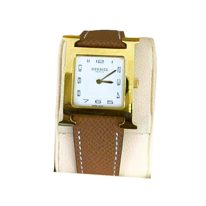 Hermes HM831 Unisex Leather Watch - Bejewel