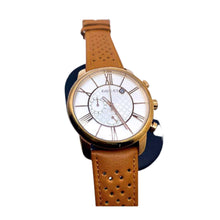 Load image into Gallery viewer, GC912 Chronograph - Unisex Leather Watch - Bejewel