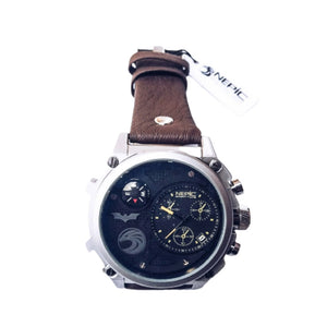 Nepic- N325 men's leather strap watch - Bejewel
