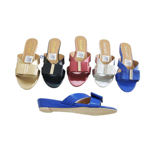 WS739 Flat Wedge - Women's Slider - Bejewel