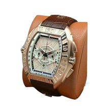 Load image into Gallery viewer, FM412 Chronograph - Men's Leather Watch - Bejewel