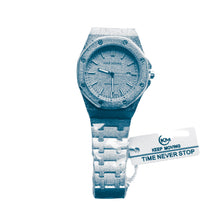 Load image into Gallery viewer, Keep Moving KM846 Ice - Unisex Chain Watch - Bejewel