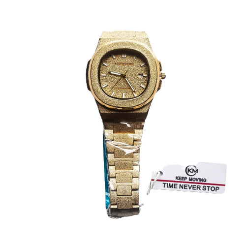 Keep Moving KM842 unisex chain watch - Bejewel