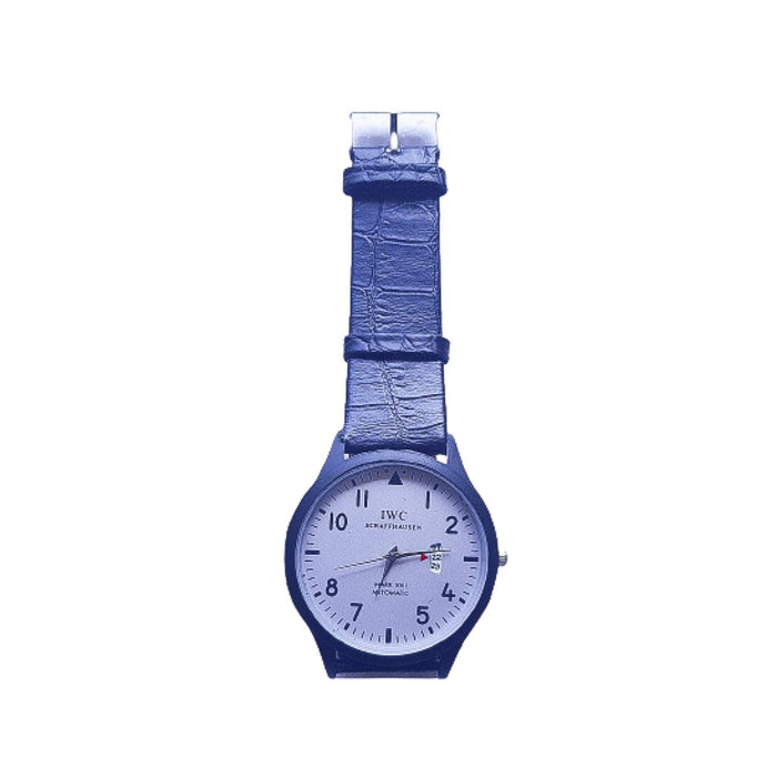 IW301 Men's Leather Watch - Bejewel