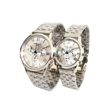 Load image into Gallery viewer, Patek Philippe PP590 Chronograph - Couples Chain Watch - Bejewel