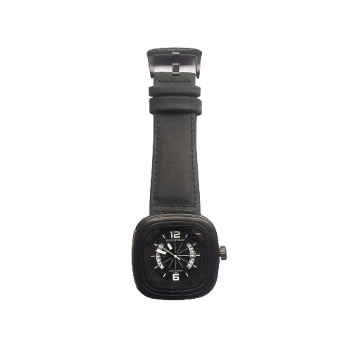 Seven Friday SF693 men's leather watch - Bejewel