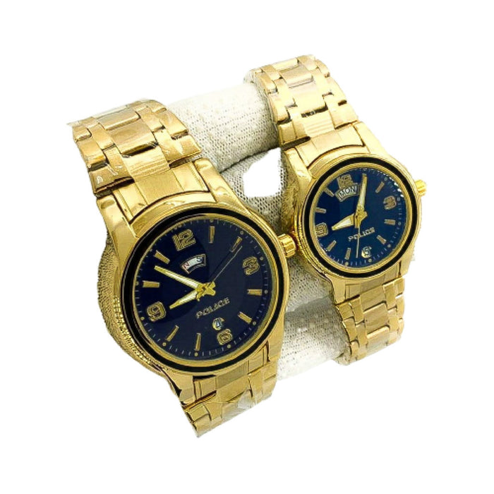 Police PL500 couples chain watch - Bejewel