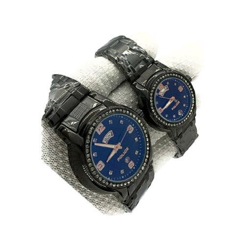 Police PL711 Couples Chain Watch - Bejewel