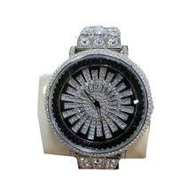 Load image into Gallery viewer, FC476 Iced Spinning Dial - Unisex Chain Watch - Bejewel
