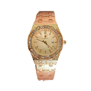 Look World LW163 Women's Chain Watch - Bejewel