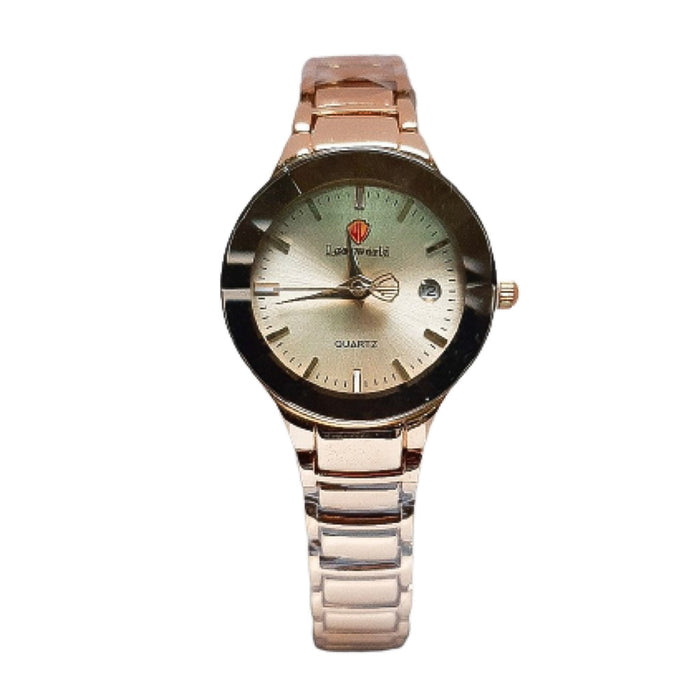Look World LW249 Women's Chain Watch - Bejewel