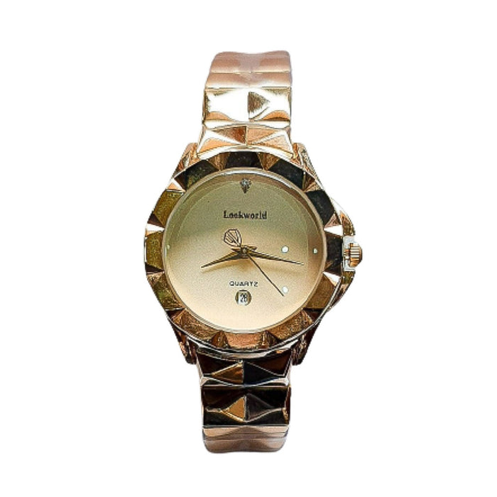 Look World LW634 Women's Chain Watch - Bejewel