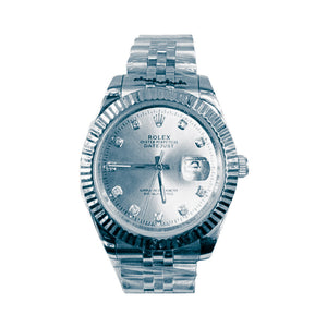 Rolex Oyster RO415 Automatic - Men's Chain Watch - Bejewel