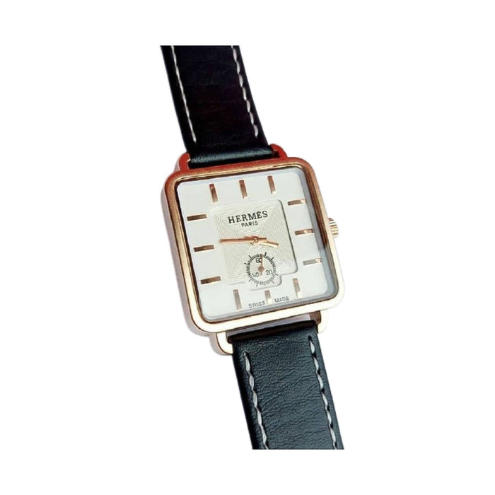 HM742 Couples Leather Watch - Bejewel