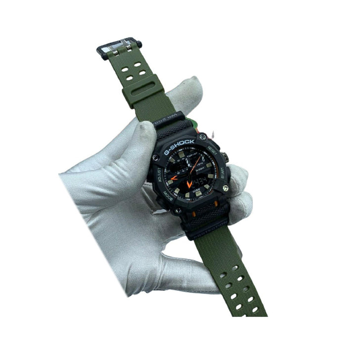 GS213 Dual System - Unisex Rubber Watch - Bejewel
