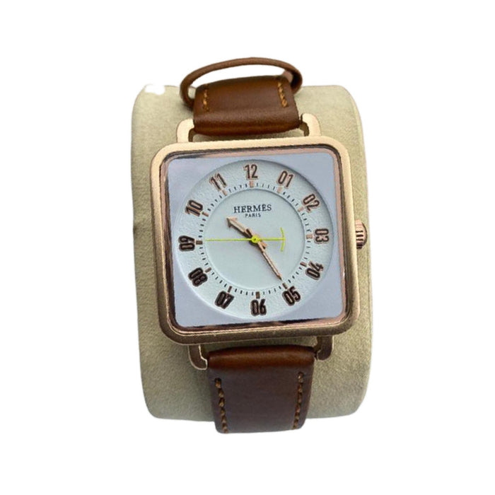 HM730 Men's Leather Watch - Bejewel