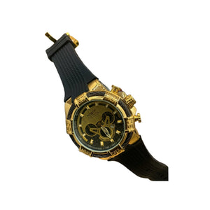 Invicta IV240 Men's Rubber Watch - Bejewel