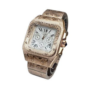 CT984 Mechanical Chronograph - Men's Chain Watch - Bejewel