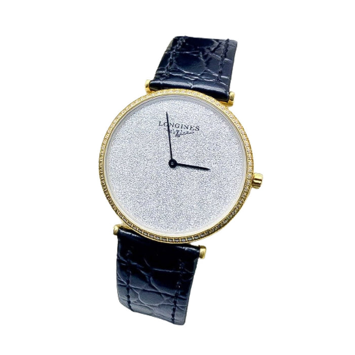 LG652 Automatic Unisex Leather Watch - Bejewel