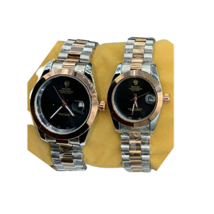 RL390 Couples Chain Watch - Bejewel