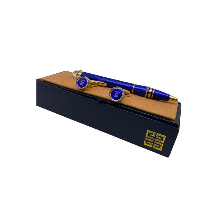 GY437 Cufflink And Biro Set - Bejewel