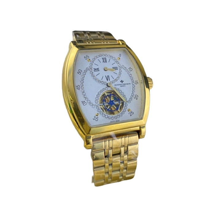 VC866 Mechanical Chronograph - Men's Chain Watch - Bejewel