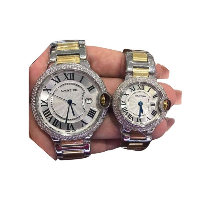 CT305 Couples Chain Watch - Bejewel