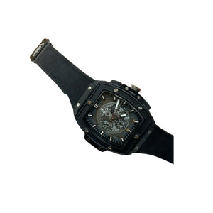 HU395 Men's Leather Watch - Bejewel