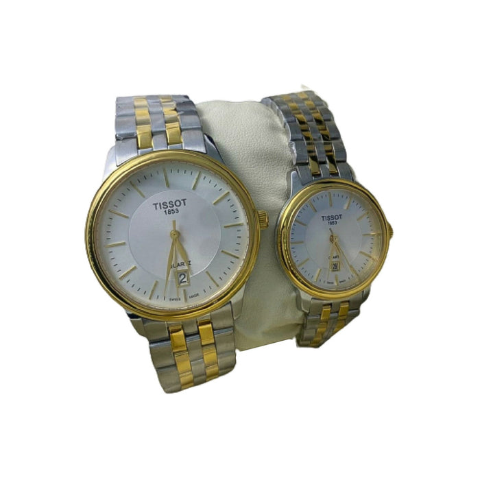TS772 Automatic Couples Chain Watch - Bejewel