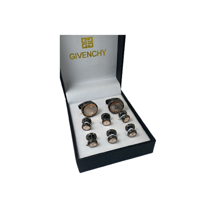 CS518 Cufflink And Stud Set - Bejewel