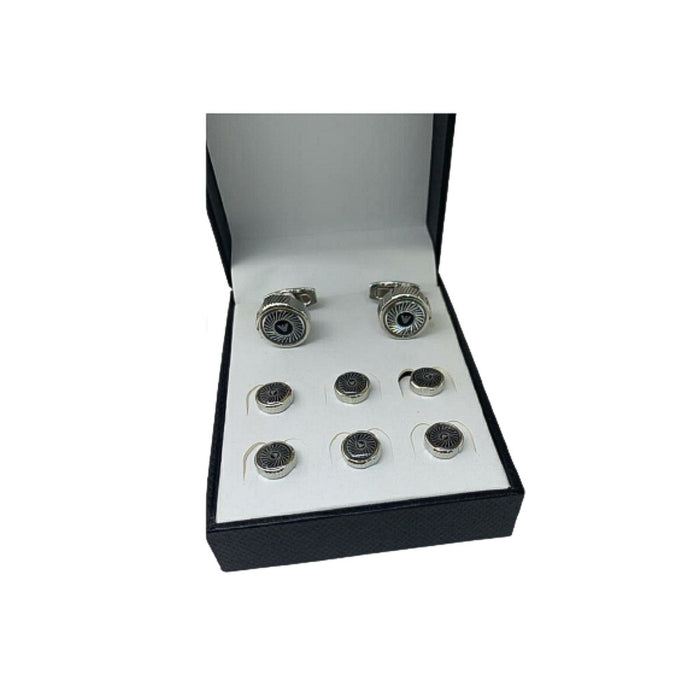 CS468 Cufflink And Stud Set - Bejewel